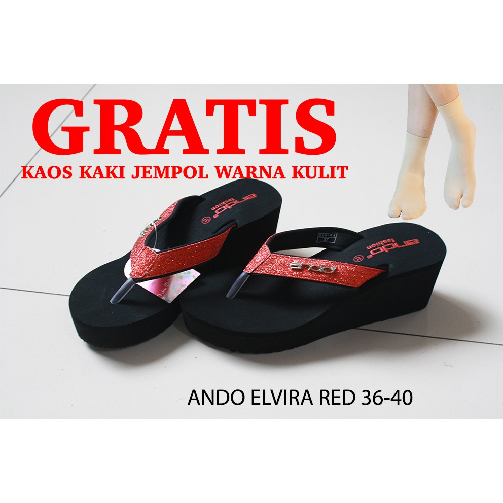 ando nice like sandal jepit wanita tosca MURAH GRATIS PROMO   Shopee Indonesia