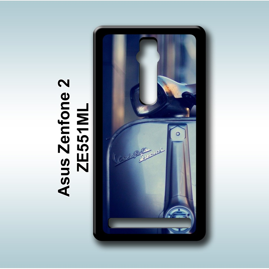 Vespa Wallpaper Case Asus Zenfone 2 5 5 ZE551ML Custom Hardcase