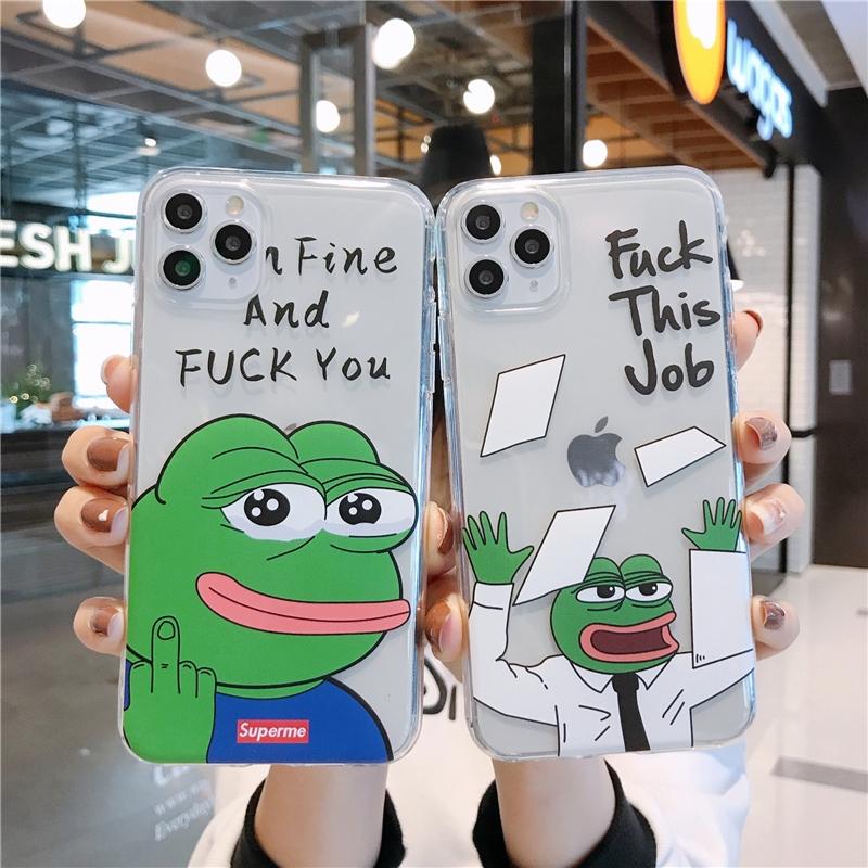 Casing Cartoon soft phone case Iphone SE 2020 12 Mini 11 ...
