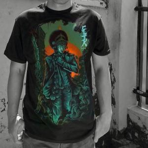 Dijual Culture Hero Kaos Distro Keren Budaya Indonesia The Hitman Murah   Shopee Indonesia
