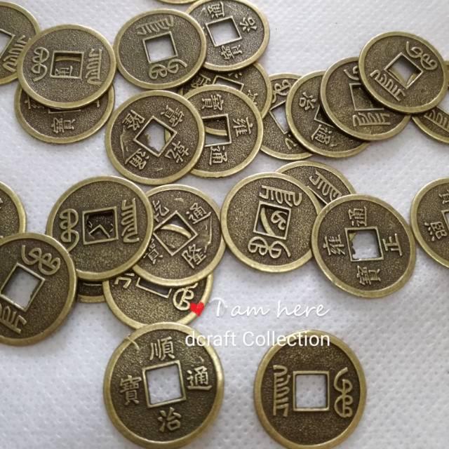 Gambar Uang Logam China Koin Cina 2cm Shopee Indonesia