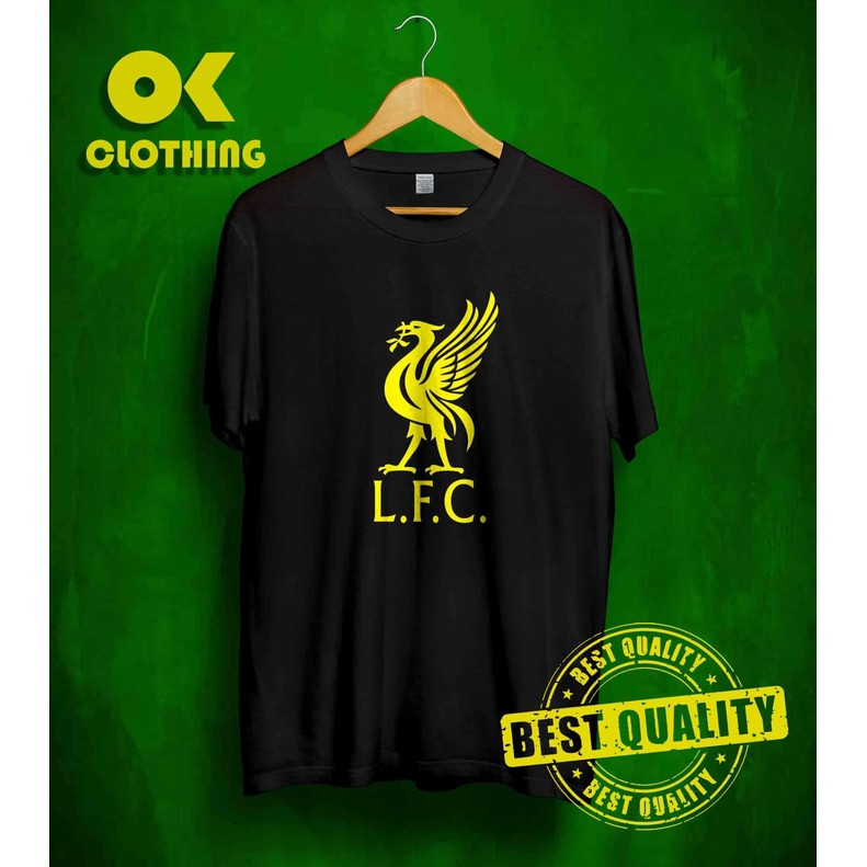 Baju Kaos T Shirt Liverpool Fc Lfc Simple Keren Ma Productions Shopee Indonesia