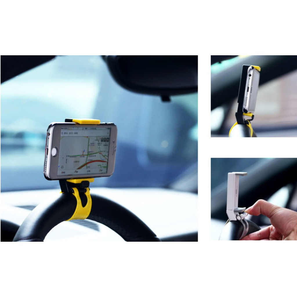 AND-RC39 Remax Steering Wheel Smartphone Holder RM C11