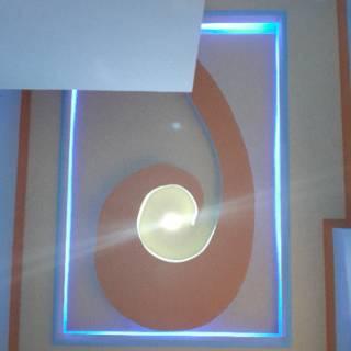 desain plafon gypsum dekorasi atap plapon interior