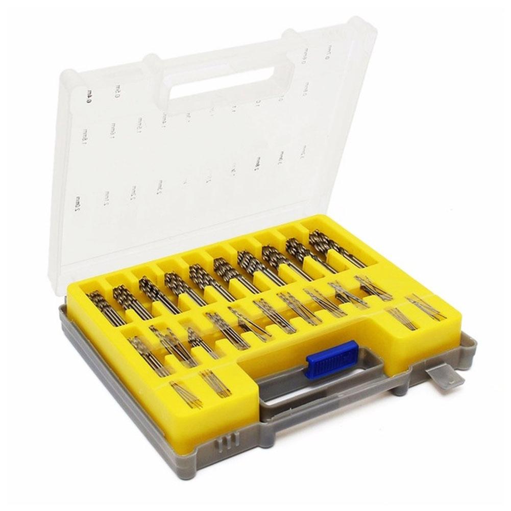 150Pcs Mata Bor Putar Mini HSS Ukuran 0.4mm-3.2mm