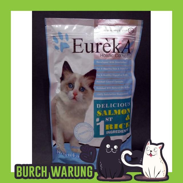 Bu969 Makanan Kucing Makanan Kucing Eureka Favorit Salmon Rice