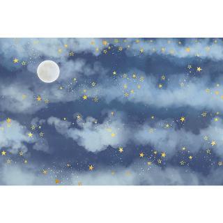 3d Tiga Dimensi Fantasi Awan Langit Langit Bintang Langit Berbintang Wallpaper Kamar Tidur Wallpaper Shopee Indonesia