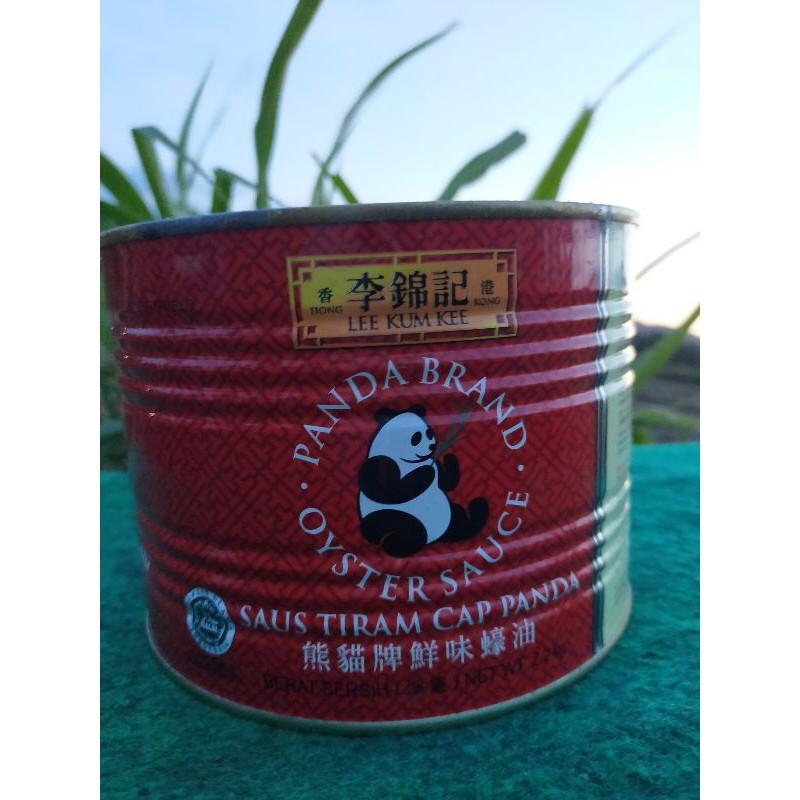 Saus Tiram Cap Panda Lee Kum Kee LKK Oyster Sauce 2,2 Kg exp 2024