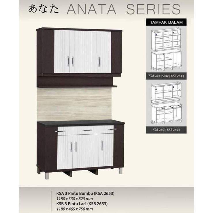 New Product Kbt 010880I Olympic Mutiara Kitchen Set Bawah 3 Pintu Free Ongkir | Shopee Indonesia