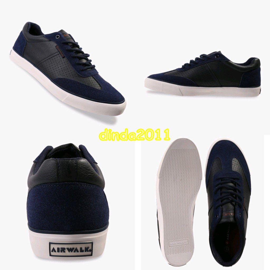 AIRWALK ORIGINAL JONAS NAVY SHOES BNIB SNEAKERS CASUAL  f7a79c7ac9