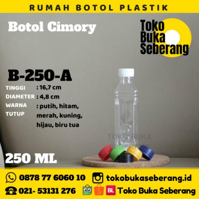 Botol Plastik 250ml (A) / Botol Jus / Botol minum / Pet / murah