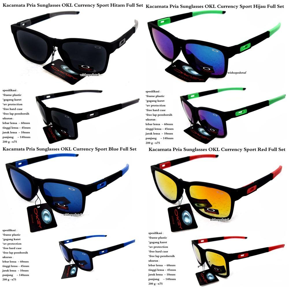 Fullset Kacamata pria sport lensa polarized Jupiter carbon frame merah  lensa hijau hitam biru fire  aa3e804a1a