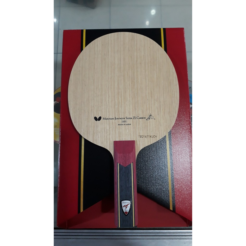 Butterfly Mizutani Jun Super Zlc Kayu Bet Tenis Meja Pingpong Butterfly Shopee Indonesia