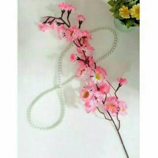 Bunga hias plastik sakura   bunga sakura  sakura murah  019ac36d3a