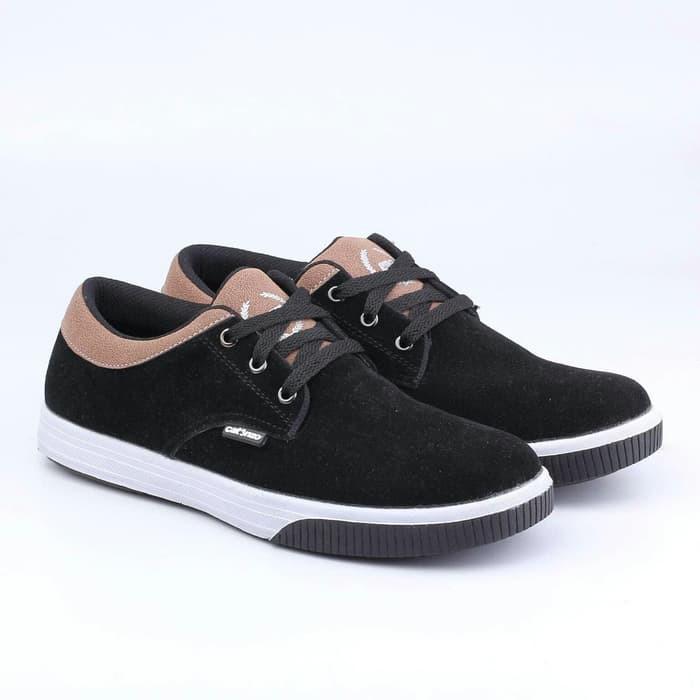 Compass Hitam Shopee Black Classic Indonesia 37 Sepatu HwTqzdWtH
