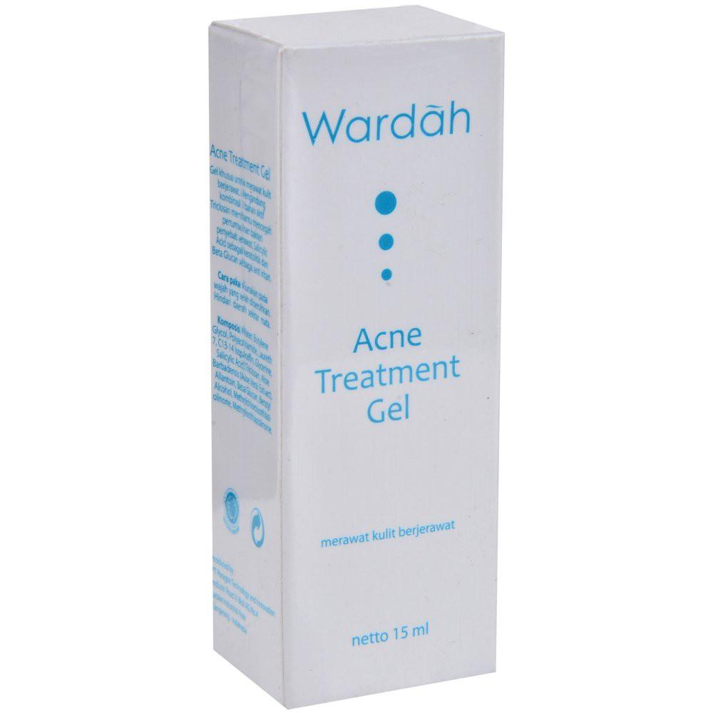 Wardah Acne Treatment Gel 15 Ml Shopee Indonesia Cica Care Silikon Ori Untk Bekas Luka Jahit Operasi
