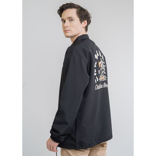 Erigo Coach Jacket Odaiba Black #2