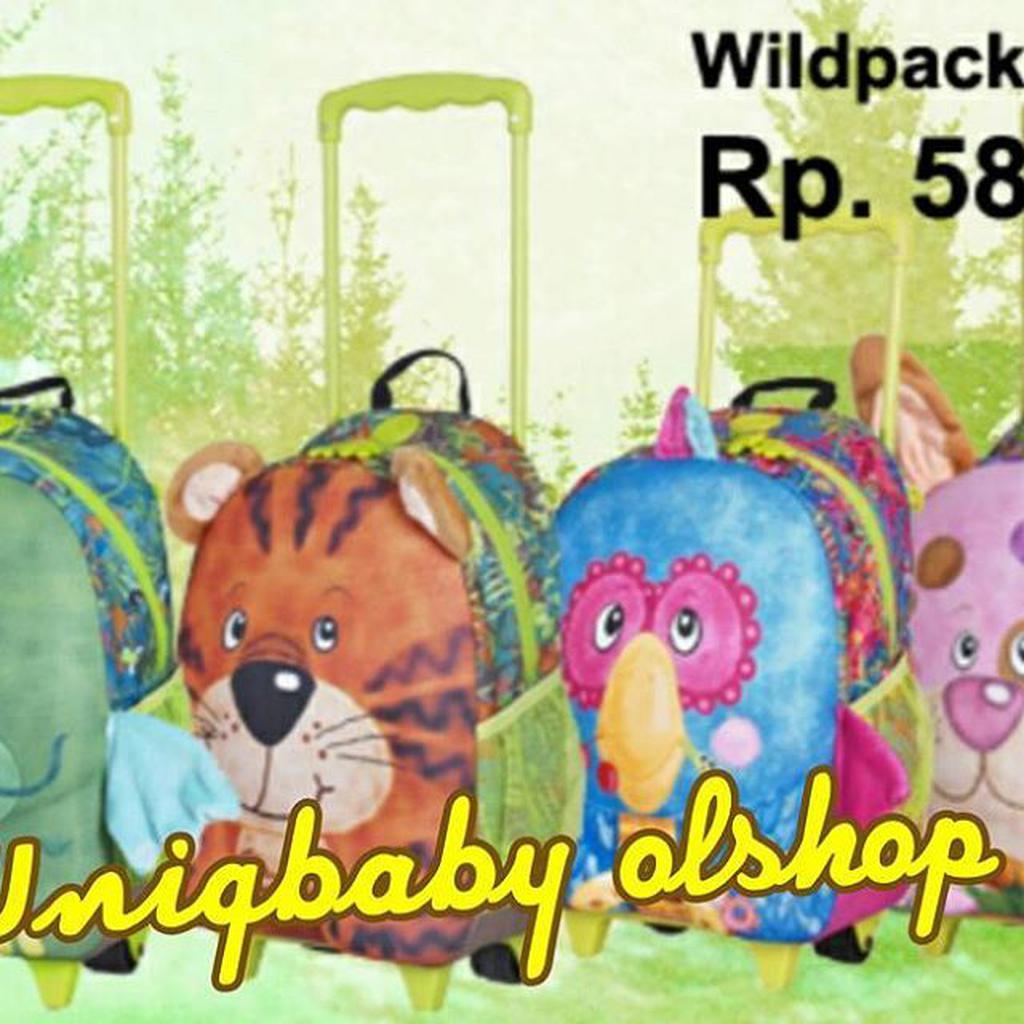Okiedog Wildpack Small Trolley Panda Shopee Indonesia Passport Holder Dragon