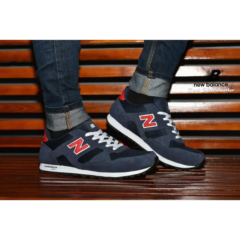 Sepatu Sport New Balance Classic Grade Ori   Merah Marron Abu   Kets Cowok  Cewek  79f258eeec