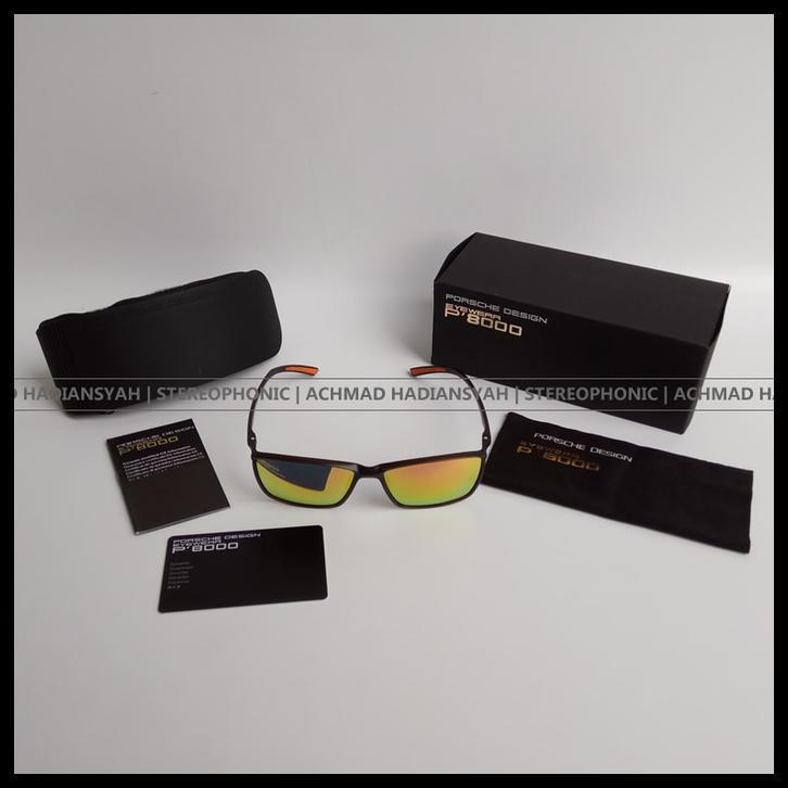 fdc35d667c0 Kacamata Porsche Design Eyewear P  39 8000 Frame P8000 SUNGLASSES Hijau