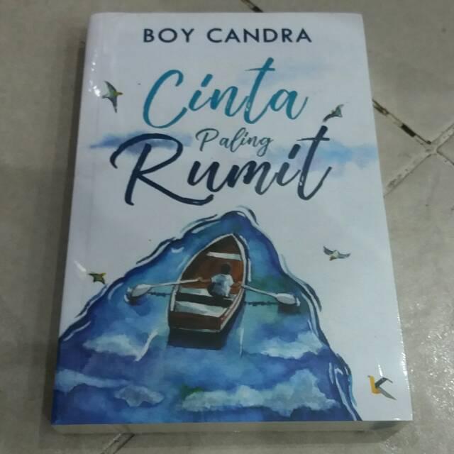 Novel Cinta Paling Rumit Boy Candra Shopee Indonesia