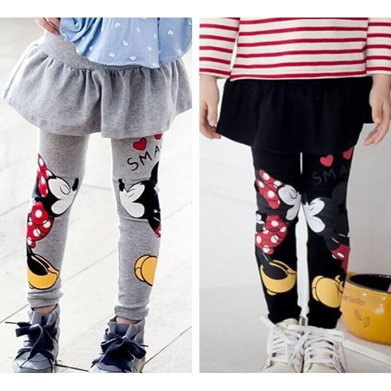 Legging Rok Anak Perempuan Mickey Minnie Mouse Shopee Indonesia