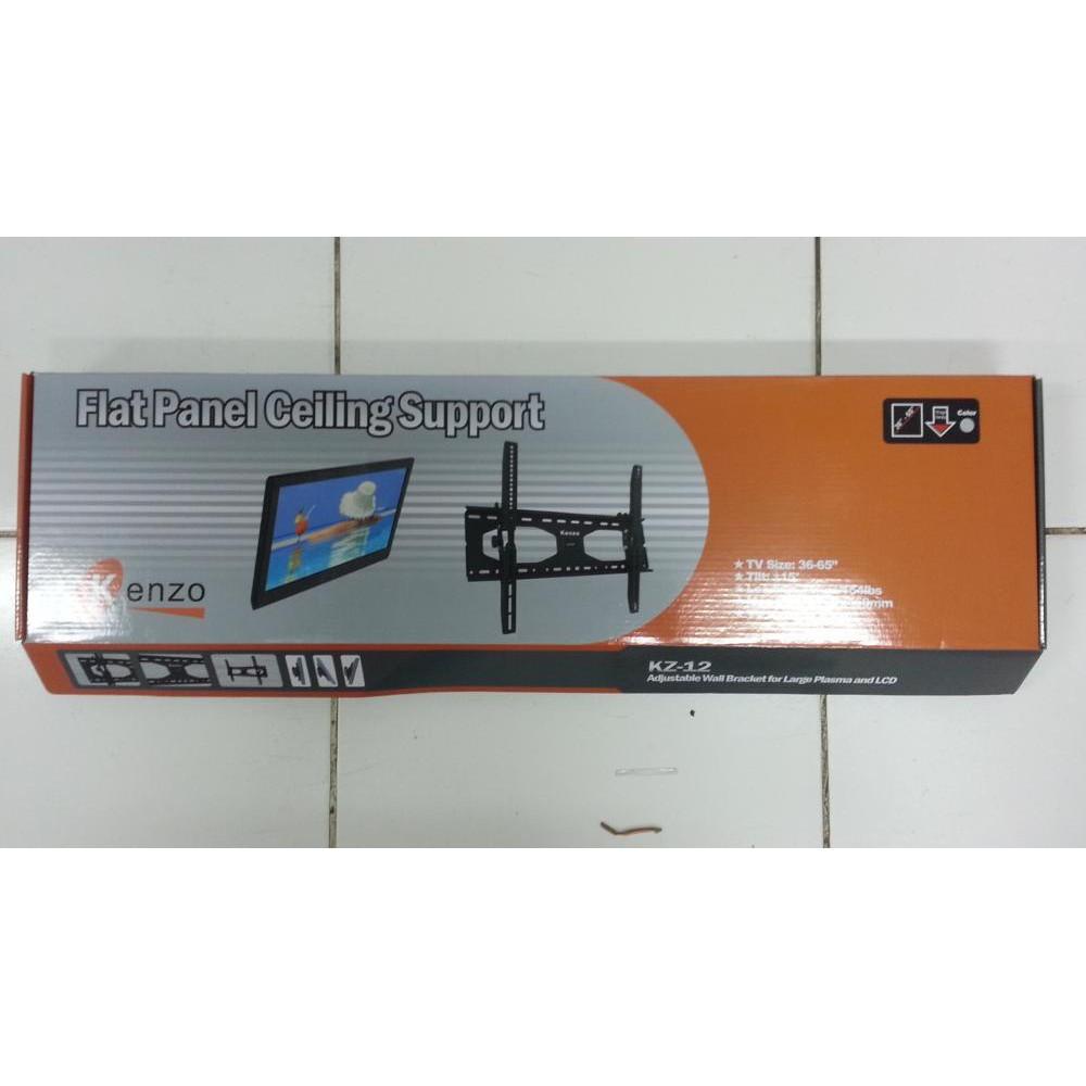 Bracket Tv Braket Breket Led Lcd Kenzo 02 17 32 Inci Shopee Universal 15 Inch Maxx Dinding Bagus Grosir Indonesia