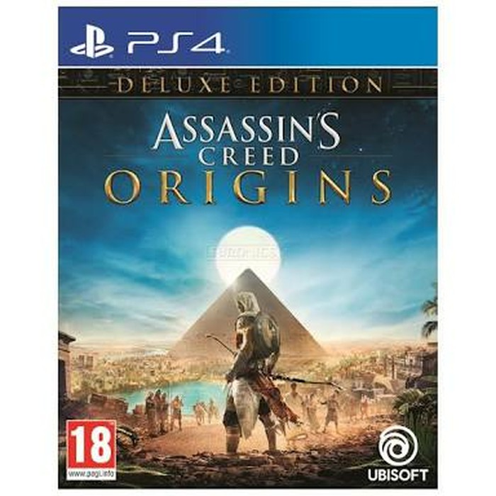 Ps4 Assassin S Assassins Creed Origins Deluxe Edition Shopee Indonesia