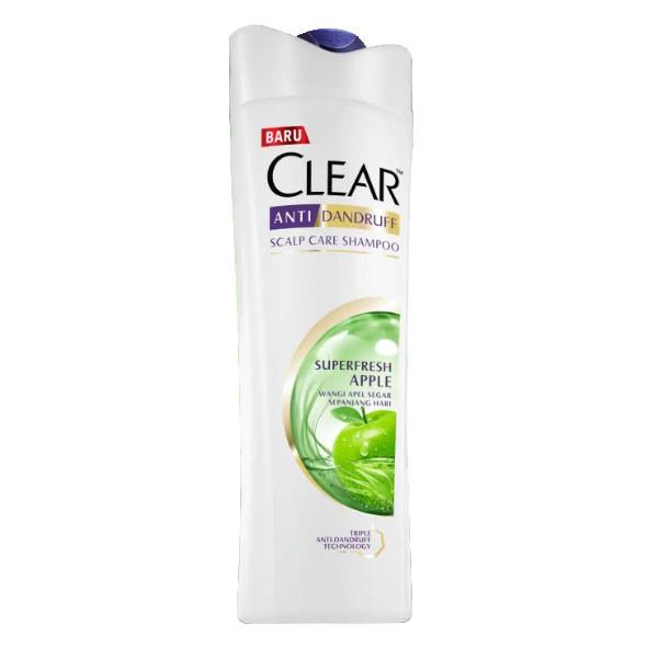 Clear Shampo Ad Superfresh Apple 160Ml