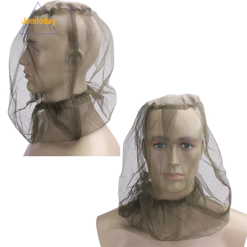 New Mosquito Hat Net Face Head Protector Foldable Outdoor Insect Gnat Head Cover