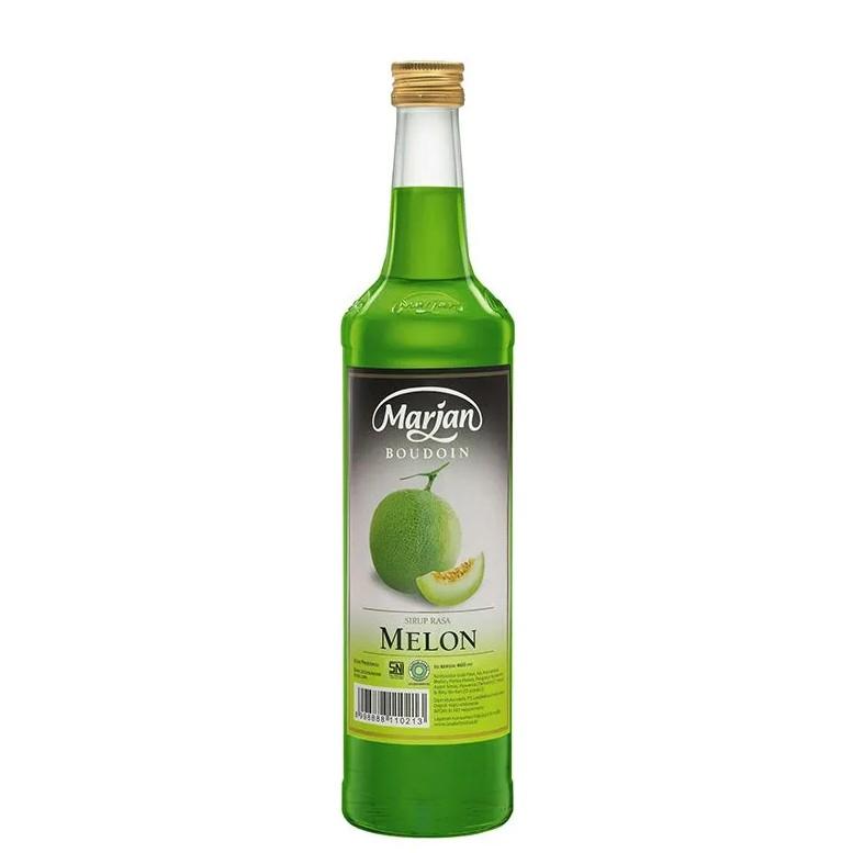 Sirup Marjan Melon 460ml 1 Dus isi 12 Botol