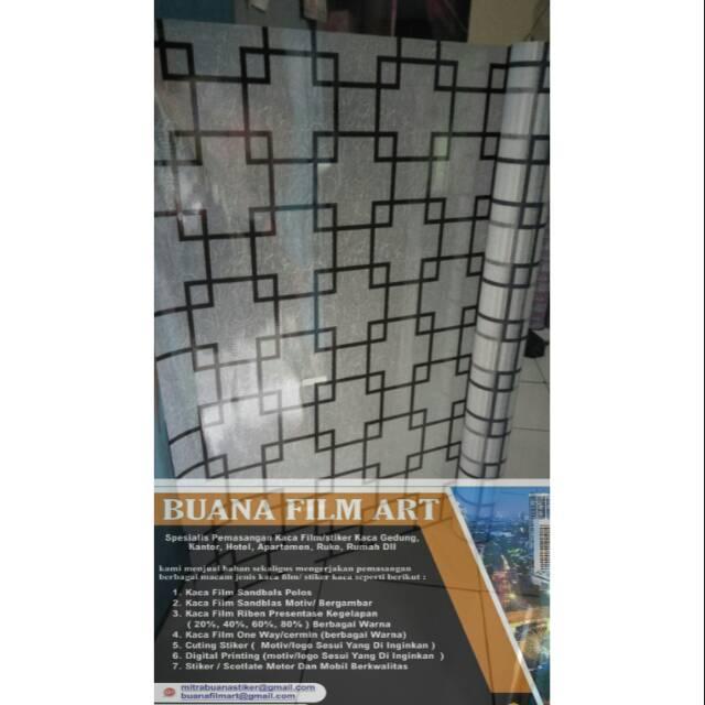 Sticker Kaca Riben Tolak Panas Kaca Film Gedung Privasi - Update ... 4275a4fc32