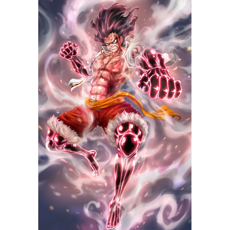 One Piece Anime Poster Oversized Wallpaper Luffy Solon Ace Asrama Wallpaper Dekorasi Lukisan Dinding Shopee Indonesia