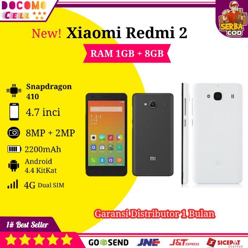 CUCI GUDANG PROMO HP Handphone Xiomi Xiaomi Redmi 2 Android 4G Murah Second Seken Bekas COD Terlaris