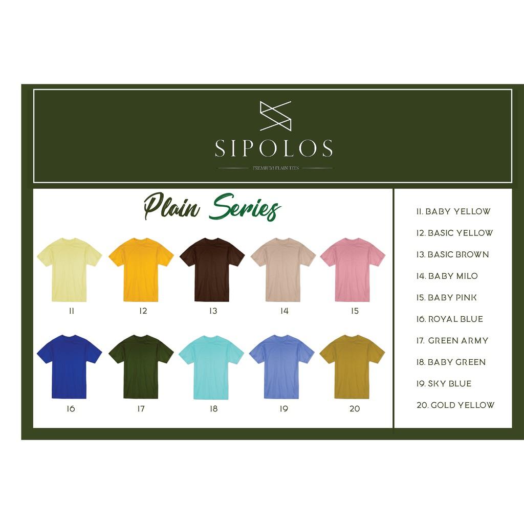 Terjual Kaos Polos Unisex Cotton Combed Premium Murah Kaskus Yellow Baby