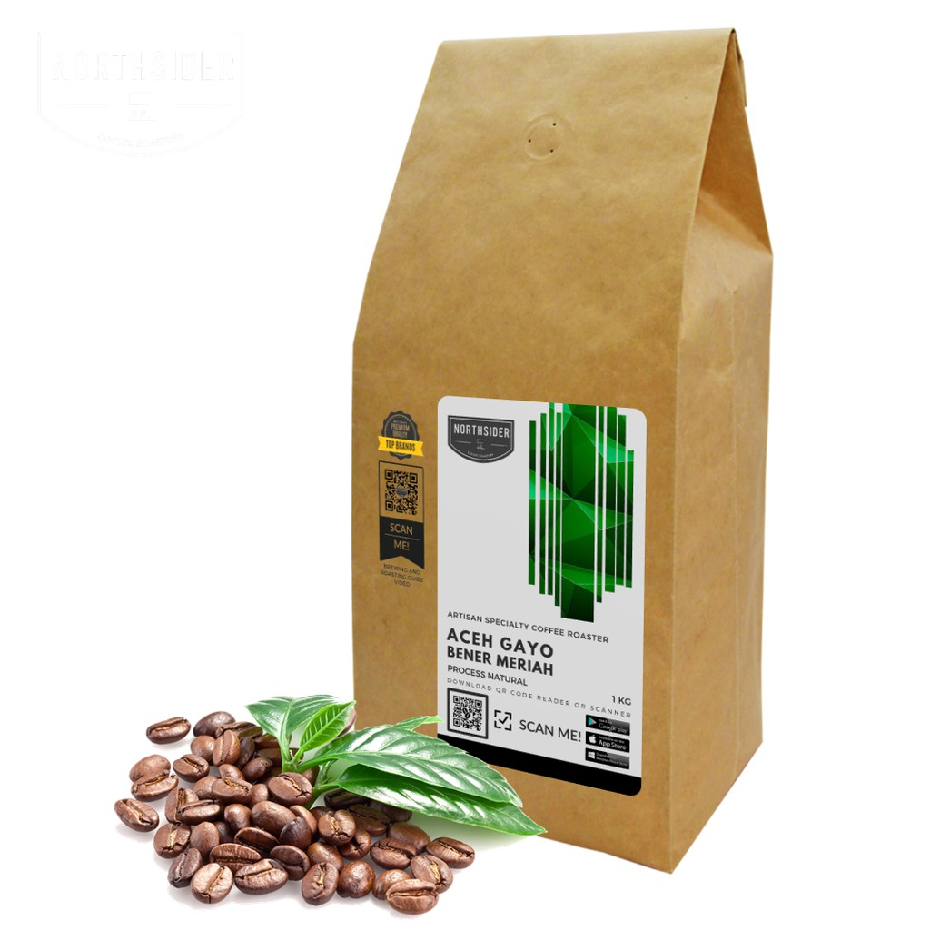Biji Kopi Arabika Aceh Gayo Natural 1kg Northsider Arabica Coffee Otten Kerinci Kayo Sungai Penuh Process 200g Bubuk Manual Brew Shopee Indonesia