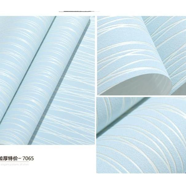 Pqd 89 Wallpaper 3d Self Adhesive Fashion Modern Stripe 53cmx5m