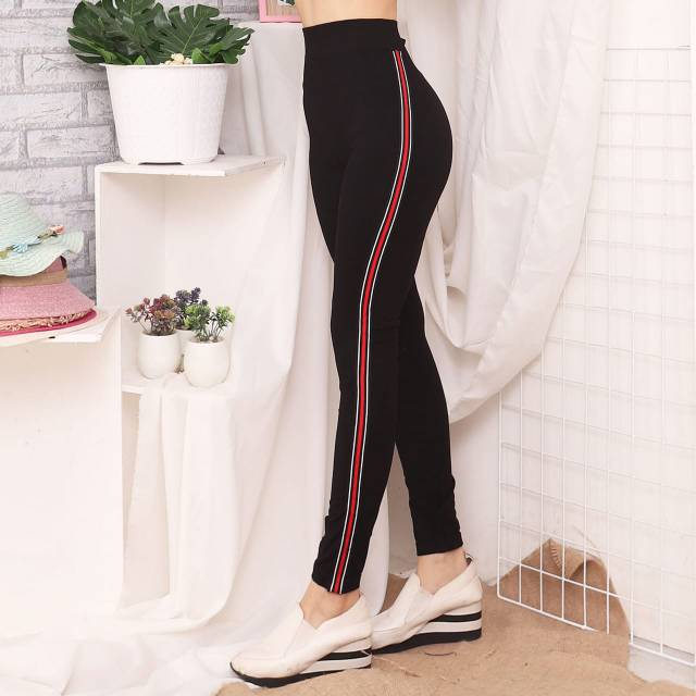 Legging Gliter Legging List Legging Import Legging Dewasa Leging Lejing Celana Panjang Shopee Indonesia
