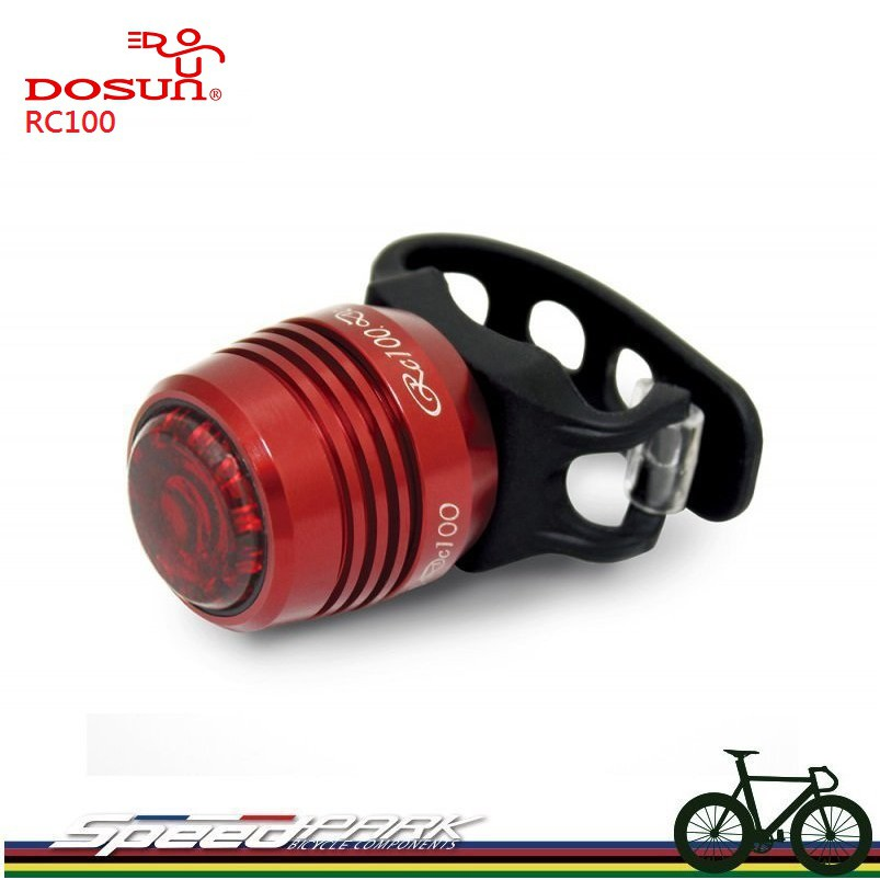 Ti Color Dosun RC100 USB Rechargeable Red LED Bike Rear Light