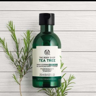 The Body Shop Tea Tree Oil 10ml Dan 20ml Shopee Indonesia