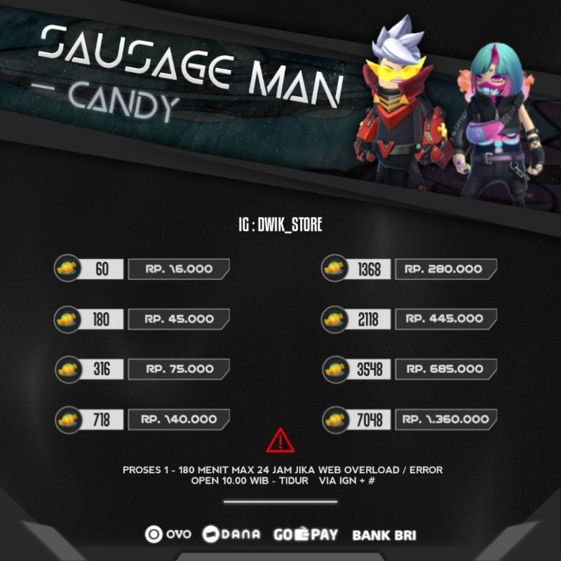 Candy Sausage Man