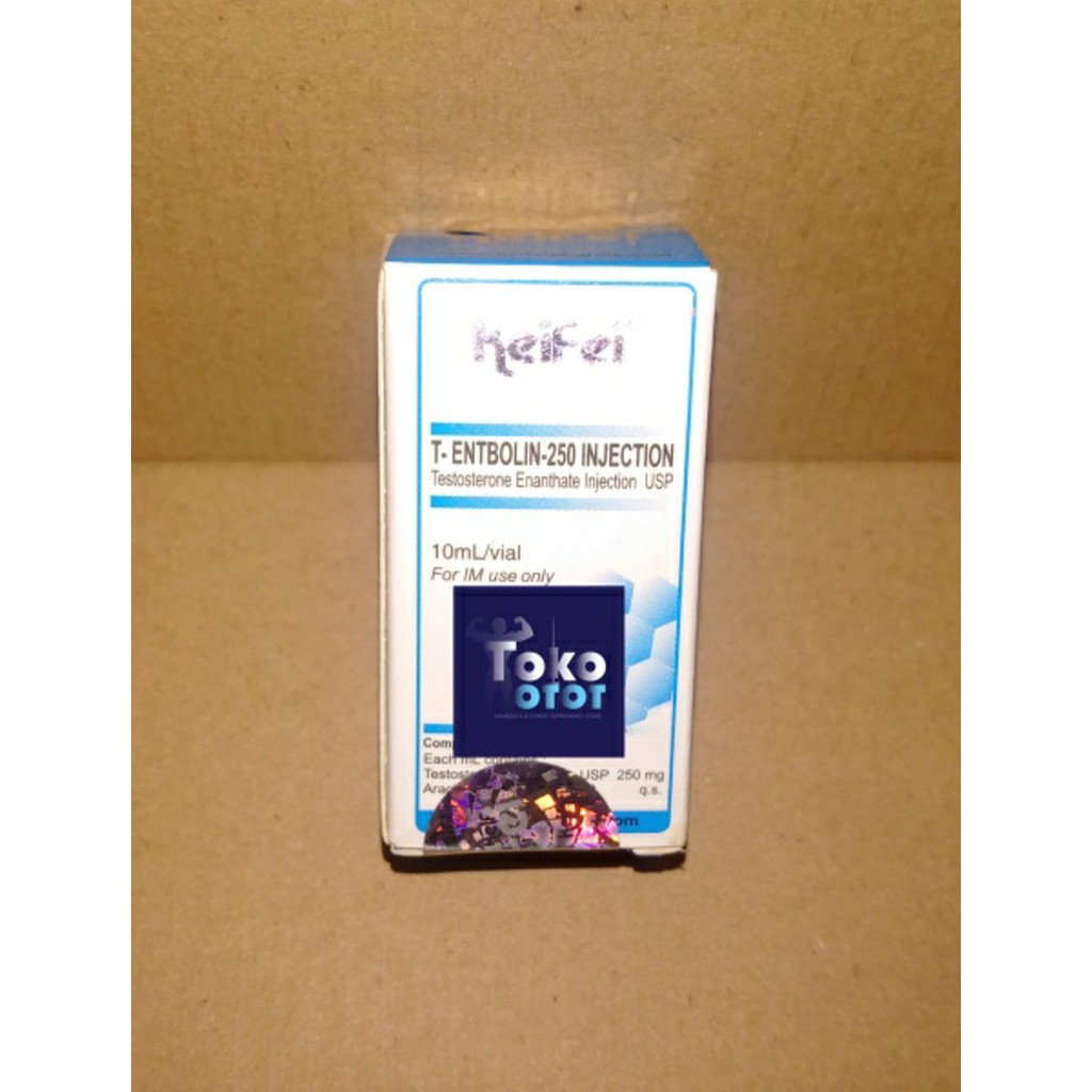 T-Entbolin 250 Vial 10Ml (Testosterone Enanthate 250Mg/Ml) Terbaik