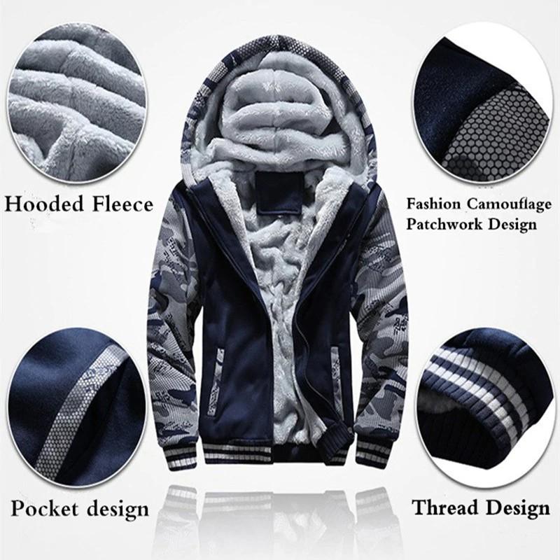 New Eminem warm Thicken Hoodie Jacket Sweater fleece coat clothing.