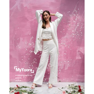 [Yoorafashion] Premium Highwaist Cullotes Celana HW Wanita