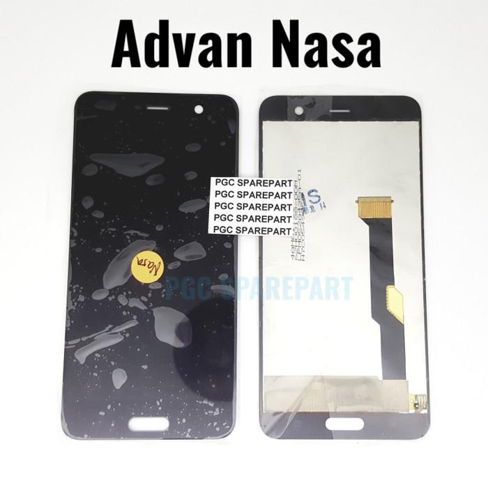 ✔✔PUAS Original OEM layar LCD (Liquid crystal display) Touchscreen Fullset Advan Nasa -