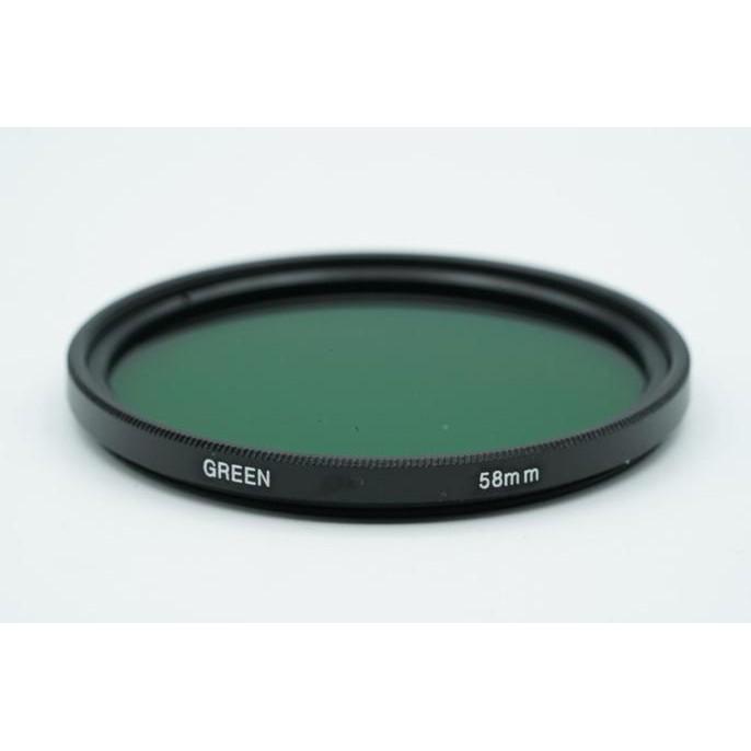 43mm Complete Full Green Color lens Filter Lens Protector For Canon Nikon Sony Digital Camera Lens