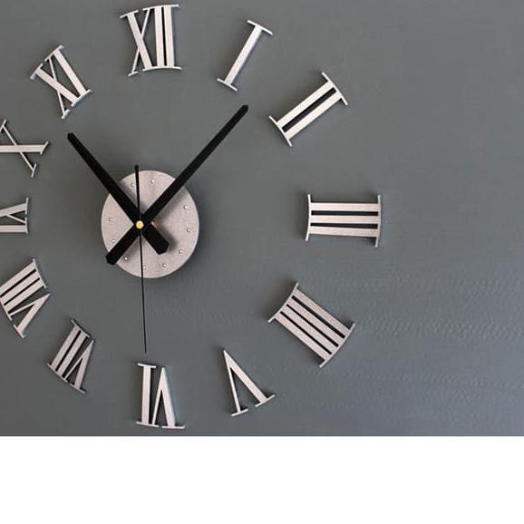 Terbaru Jam Dinding Raksasa DIY Giant Wall Clock 30-60cm Diameter ... ...  dca44c10af