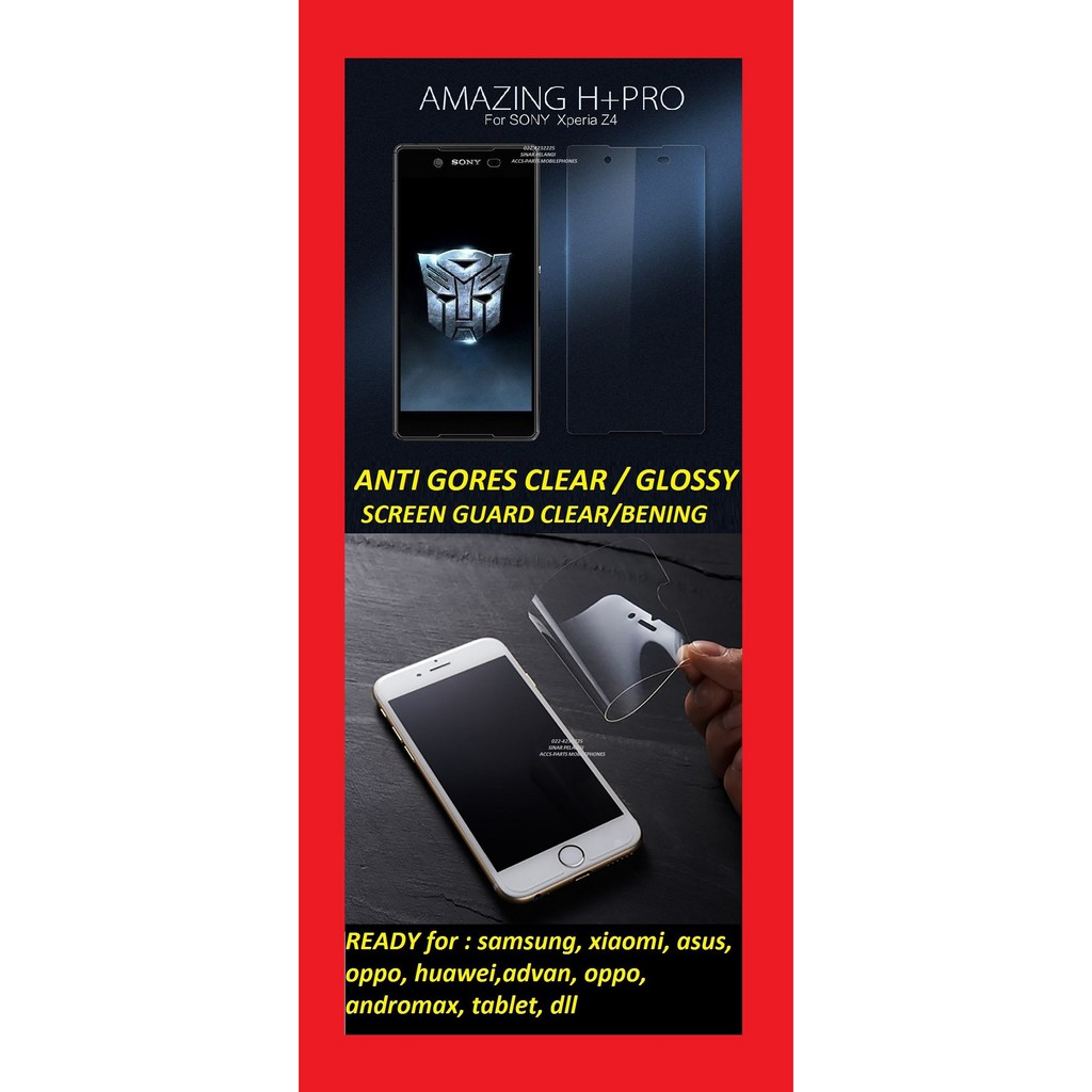 Anti Gores Bening Transparant Lenovo S580 Pelindung Layar X Pro K Box Tempered Glass Vivo Y15 Clear 905822 Shopee Indonesia