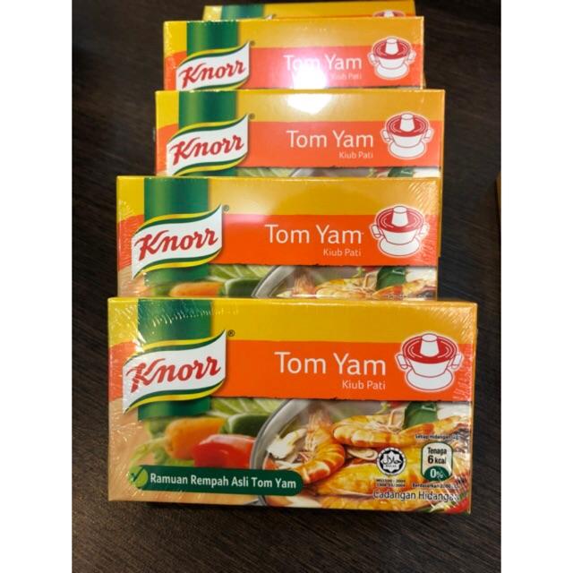 Bumbu TOM YAM- Knorr cube isi 6- HALAL