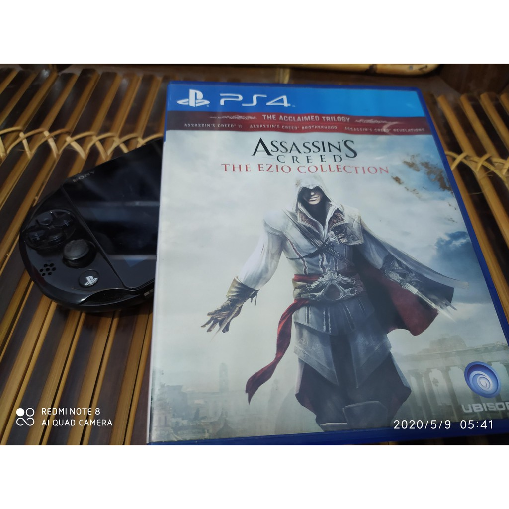 Bd Game Ps4 Assassin S Creed The Ezio Collection Shopee Indonesia